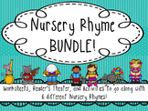 Nursery Rhyme Activity Pack & Reader's Theater BUNDLE!
