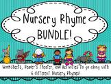 Nursery Rhyme Activity Pack & Reader's Theater BUNDLE!