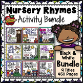 Nursery Rhyme Activities - Black & White Bundle