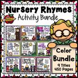 Nursery Rhyme Activities - Color Bundle