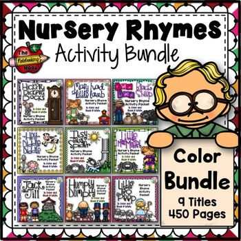 Nursery Rhyme Activities - Color Bundle