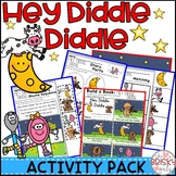 Nursery Rhyme Activity for Hey Diddle Diddle