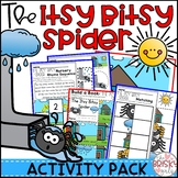 Nursery Rhyme Activity for The Itsy Bitsy Spider