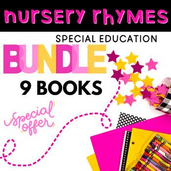 Nursery Rhyme Adapted Book Bundle: 6 Adapted Books