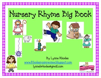 Nursery Rhyme Big Book
