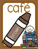 Nursery Rhyme Bilingual Color Posters