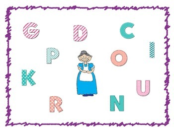 Nursery Rhyme Bingo