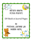 Nursery Rhyme Book - Journal or Picture Prompts