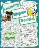 Nursery Rhyme Booklet