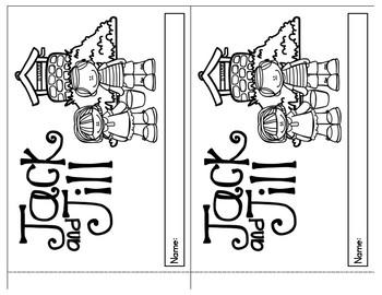 Nursery Rhyme Booklets - Set 1
