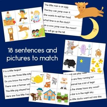 Nursery Rhyme Bundle: Reading, Writing and Math Activities