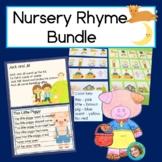 Nursery Rhyme Bundle: Reading, Writing and Patterns