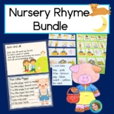 Nursery Rhyme Bundle with Reading, Writing and Patterns