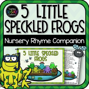 Nursery Rhyme Bundle: Interactive Books + Activities for Special Education