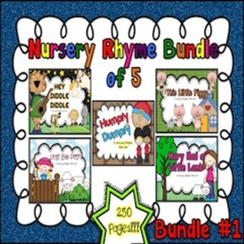 Nursery Rhyme Bundle #1 (Set of 5)