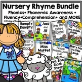 Nursery Rhyme Bundle to Practice Letter Names, Sounds, and Phonemic Awareness