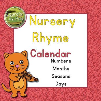 Nursery Rhyme Calendar Set