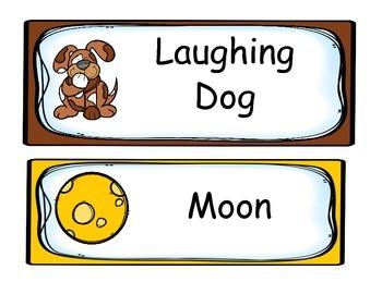 Nursery Rhyme Cards