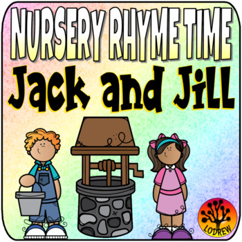 Nursery Rhyme Centers Jack and Jill Math Literacy Recording Sheets Worksheets