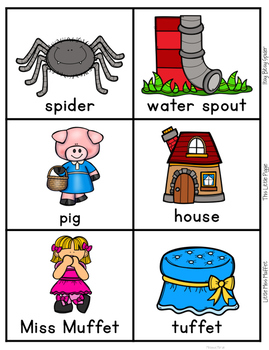 Nursery Rhyme Characters Sort