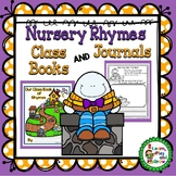 Nursery Rhymes Writing Prompts for Class Books and Journals