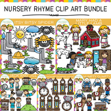 Nursery Rhyme Clip Art Bundle One