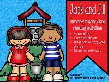 Nursery Rhyme Close Reading- Jack and Jill