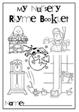 Nursery Rhyme Cloze Comprehension Activity Booklet