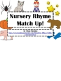 Nursery Rhyme Color Sentences File Folder Game- Two Levels