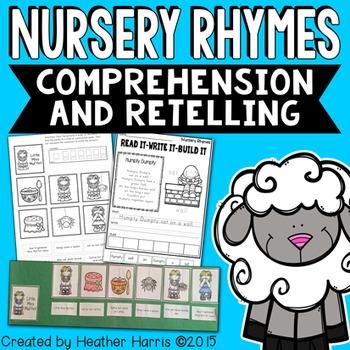 Nursery Rhyme Comprehension and Retelling Pack