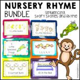 Nursery Rhyme Counting Activities Bundle l Story Stones