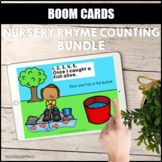 Nursery Rhyme Counting Bundle BOOM LEARNING CARDS Distance