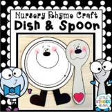 Nursery Rhyme Craft: Hey Diddle Diddle Dish and Spoon