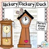 Nursery Rhyme Craft Hickory Hickory Dock