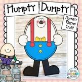 Nursery Rhyme Craft Humpty Dumpty