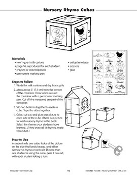 Nursery Rhyme Cube (Nursery Rhymes)