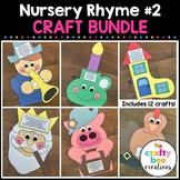 Nursery Rhyme Crafts Bundle 2