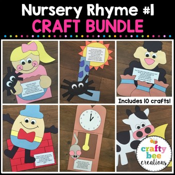 Nursery Rhyme Cut and Paste Set