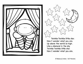 Nursery Rhyme Dot Art Activities