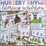 Nursery Rhyme Activities Distance Learning