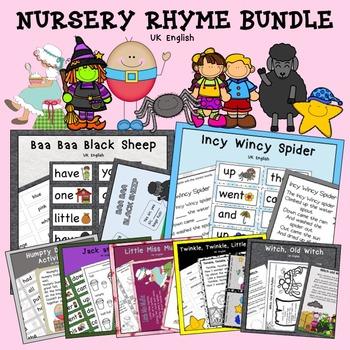 Nursery Rhyme Growing Bundle AUS UK