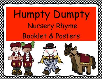 HUMPTY DUMPTY Nursery Rhyme Booklet & Posters