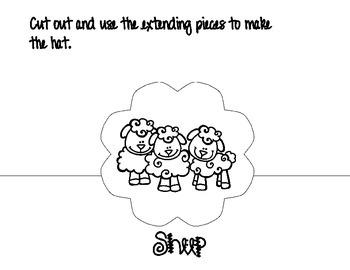 Nursery Rhyme Hat Set