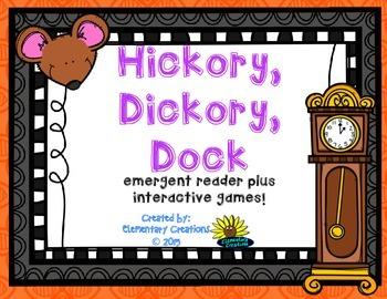 Nursery Rhymes Hickory Dickory Dock