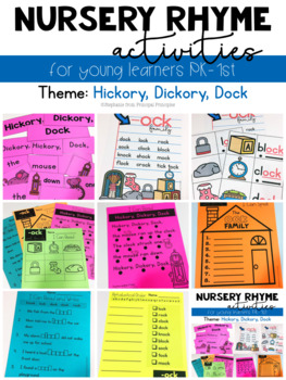 Nursery Rhyme- Hickory, Dickory, Dock