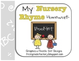 Nursery Rhyme Homework Booklet