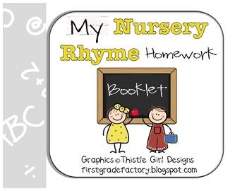 Nursery Rhyme Homework Booklet