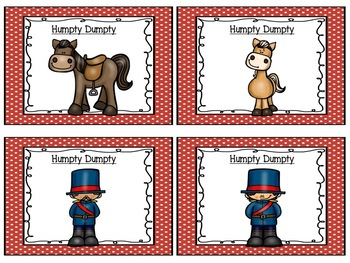 Nursery Rhyme Interactive Journal Set 1