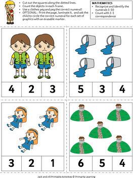 Nursery Rhymes: Jack & Jill BUNDLE complements phonics programs (SASSOON)