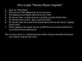 Nursery Rhyme Jeopardy